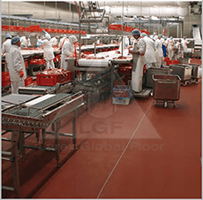 Pardoseli pentru industria alimentara si a bauturilor